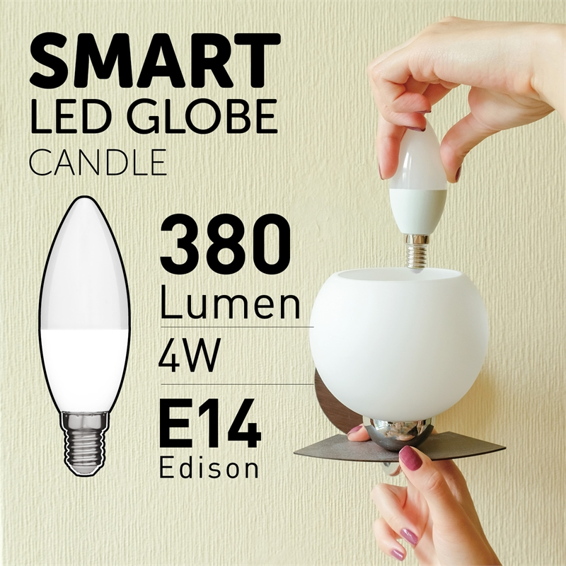 Arlec Smart 4W 380lm Candle