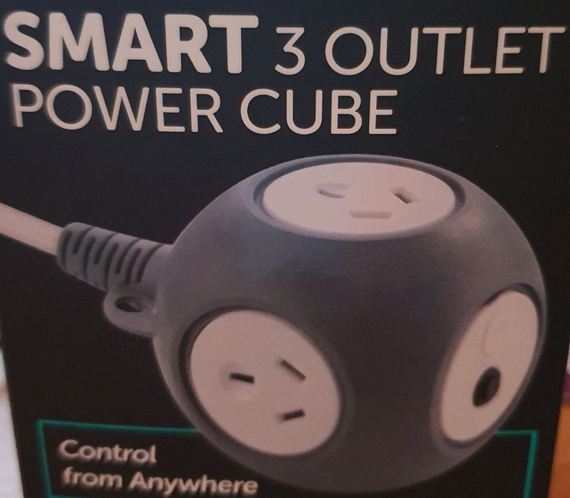 Arlec Smart 3 Outlet Power Cube