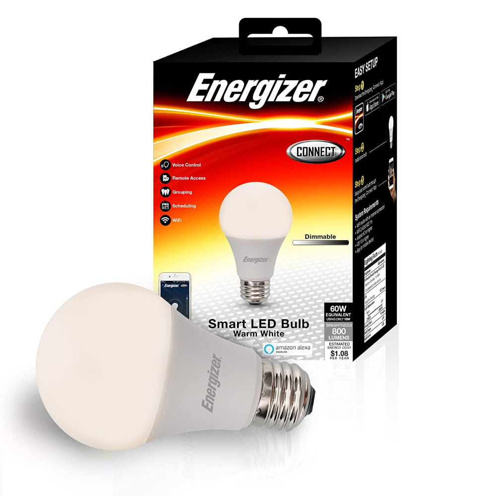 Energizer A19 10W Smart White