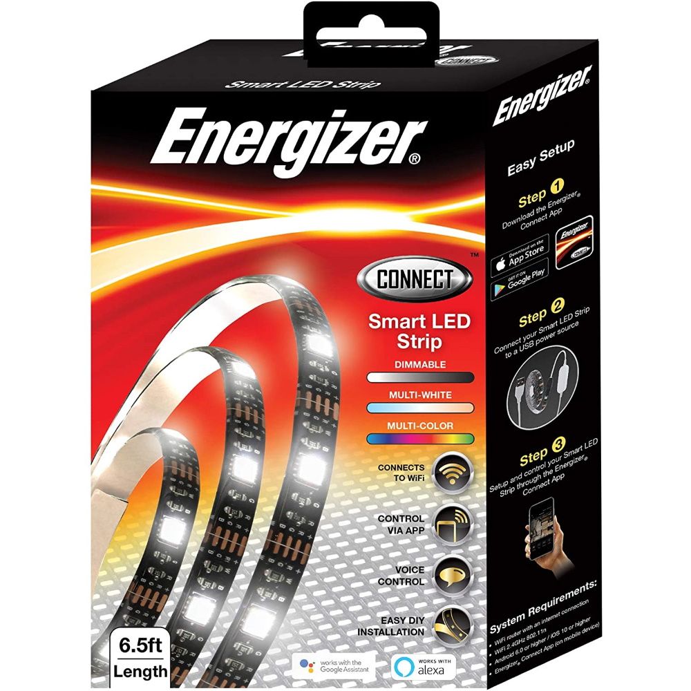 Energizer Multi-Color 6.5ft